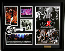 New INXS Signed Limited Edition Memorabilia