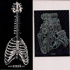 """EMEK 3X4/"""" Queens Of The Stone Age fonda STICKER Art from silkscreen poster print"""