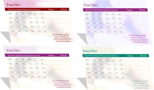 10 Terminblöcke Terminblock Physio Praxis Massage Beauty + Kalender 2022 DIN A 3