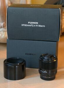 Fujifilm FUJINON XF 60mm F2.4 R Macro Lens - Condition As New
