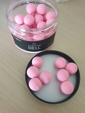 Baitworks Scent From Hell Pink Pop-ups 15mm Sample X 8 Baits