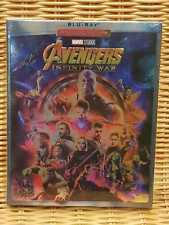 Avengers Infinity War Blu Ray 2018 Region Free Brand New