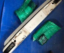 genuine porsche 911 rear bumper WHITE w/extension panels w/rubber w/valance