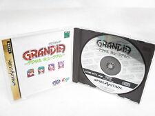 GRANDIA Digital Museum Item Ref/C Sega Saturn Import Japan Game ss