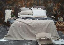 100% Pure Linen French Bed Linen Quilt Cover Linen Duvet linen Set-Natural King