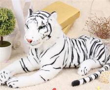 Tiger Plush Animal Realistic Big Cat white Bengal Soft Stuffed Toy Pillow gift