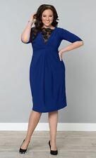 NWT Beautiful Plus Size Signature Lace Cocktail Dress by Kiyonna, 1X