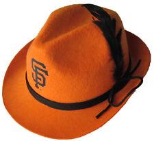 > 2014 New SF Giants SGA Oktoberfest Hat w/ feathers cap fedora not cowboy cap