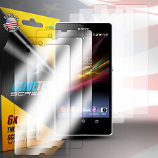 3 x FULL BODY Front and Back Screen Protector Shield Skin For Sony Xperia Z L3
