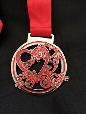 Valentines /Heart Virtual Run Race Medal new