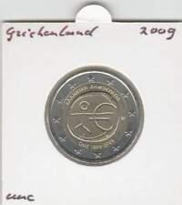 Griekenland 2 euro 2009 UNC : 10 Jaar EMU