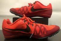 Nike Zoom Rival M 8 Multi Use Track Spikes Orange Red 806555 614 Men Size 10.5