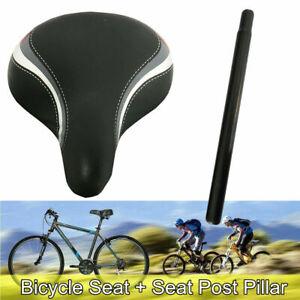 Bike Bicycle saddle Cycling Seat Men Women Wide Cushion Mountain bike Road bike