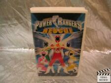 Power Rangers: Lightspeed Rescue (VHS, 2000) Large Case
