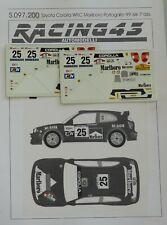 DECALS 1/43 TOYOTA COROLLA WRC MARLBORO ISIK RALLY PORTOGALLO 1999 S97