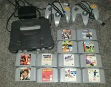 N64 console bundle 12 Games 👍& 2 Controllers👍 All Tested Great COLLECTION