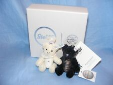 Steiff Wedding Keyring Bears Swarovski Limited Edition Gift Set New Present Gift