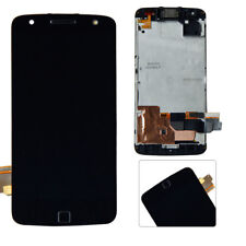 For Motorola Moto Z Force XT1650-02 Frame LCD + Display Touch Screen Digitizer