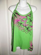 TORRID Multi Print BRAIDED STRAP Halter Tank Top Plus Size 1