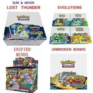 NEWEST 324pcs Pokemon TCG Booster Box English Edition Break Point 36 Packs Cards
