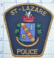 CANADA, ST-LAZARE POLICE DEPT QUEBEC PATCH