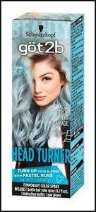 Schwarzkopf Got2b Head Turner Temporary Hair Color Spray 4.2 Fl Oz CANDY COTTON