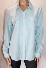MIX Brand Blue Button Front Blouse Top Size 16/XL BNWT #SG68