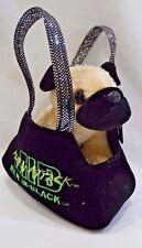 NWT Men In Black Frank Alien Attack Pug Dog Plush Stuffed Animal w/Carrying Case