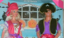1998 HALLOWEEN PARTY BARBIE & KEN GIFTSET TARGET SPECIAL EDITION NEW NRFB
