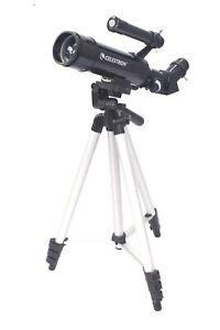 CELESTRON TRAVEL 50mm TELESCOPE Model 21038 W/ Tripod - N25