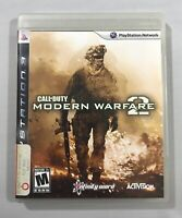 Call of Duty Modern Warfare 2 PlayStation 3 2009 Complete with Manual