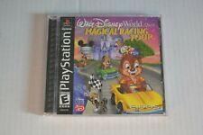 Walt Disney World Quest Magical Racing Tour Playstation 1 PS1 CIB Tested.