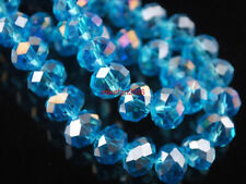 2020 NEW Favorite Crystal glass Loose Beads AB - skyblue