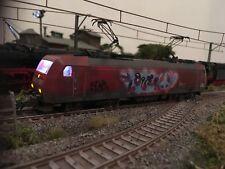 Modelleisenbahn H0 BR 185 Märklin 29153 Digital, gealtert, Graffiti, Sound 60949