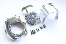 Plastic chrome engine cover kits for CY Zenoah Gas Fuelie HPI Baja 5B 5T Losi