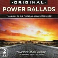 Various Artists-Original Power Ballads CD   New