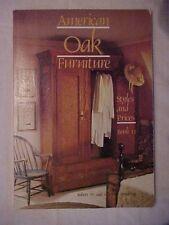 1984 BOOK, AMERICAN OAK FURNITURE, STYLES  PRICES , BK II by Swedberg