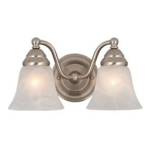 Vaxcel Standford 2L Vanity Light Brushed Nickel - VL35122BN