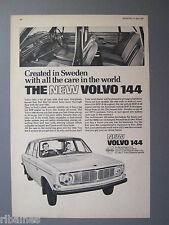 R&L Ex-Mag Advert: Volvo 144 Car, 1967