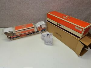Lionel Flatbed Toy Truck with Operating Lights-Sounds & Caboose TMT-18405 NIB