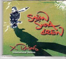 (EX620) Saïan Supa Crew, X-Raisons international version - 2003 DJ CD