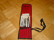 SNAP-ON TOOLS NEW UNUSED 6 PIECE LONG PIN PUNCH SET PPCL60BK