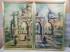 Vintage 2-Piece Windsor Art Product Entrata Del Lago V3476 948 Framed Prints