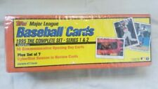 1995 Topps Baseball Factory Set Complete 677 Cards Series 1 and 2