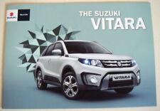 Suzuki Paper 2016 Sales Car Brochures