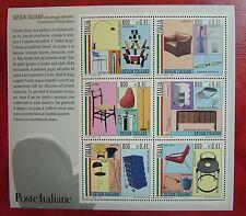 2000  Italia Foglietto  Design Italiano  6 x 800 lire   MNh**