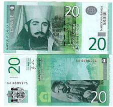 Serbie SERBIA Billet 20 DINARA 2011 NEUF UNC