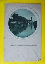 PADOVA: il Bacchiglione con veduta dell' Osservatorio 1922