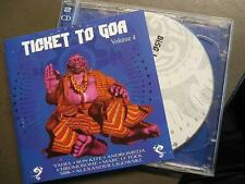 TICKET TO GOA VOL. 4 - YELLOW SUNSHINE RECORDS SAMPLER - 2 CD - YAHEL SON KITE