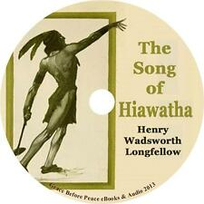 The Song of Hiawatha, Henry Wadsworth Longfellow Audiobook on 1 MP3 CD